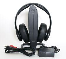 Insignia - NS-HAWHP2 RF Wireless Over-the-Ear Universal TV Phone AV Headphones R