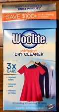 Woolite At Home Dry Cleaner Fresh Scent 6 Cloths New Sealed