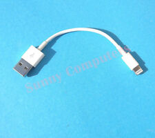 2x Short USB Data Sync Charger Cable For iPhone SE 6S 6S+ iPad Pro Air Mini iPod