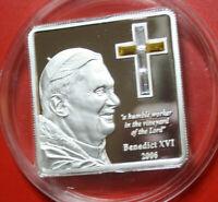 Cook Islands 5 Dollars 2006 Silber Proof #F3171, Swarovsky Kristalle, nur 5000!!