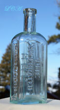 P.C.G.W. western-blown CELEBRATED HORSE MEDICINE bottle LARGE size 1868