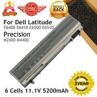 Battery For Dell Latitude E6400 E6410 E6500 E6510 PT434 Precision M2400 M440