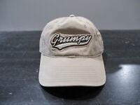 VINTAGE Disney Hat Cap Brown Grumpy Snow White Strap Back Mens 90s *
