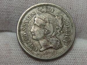 1868 3¢ Cent Nickel. #32