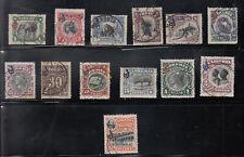 Liberia # O46-58 Complete USED 1906 Set Fauna Elephant
