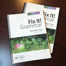 * IEW Fix It! Grammar: The Nose Tree [Book 1] Student Book + Teacher's Manual *