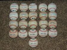 Rawlings & Wilson Official Major League Baseball Lot 21 DRY Baseballs