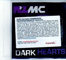 (DU491) Riz Mc, Dark Hearts - 2011 DJ CD