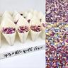 20 Biodegradable Bamboo Confetti CONES Dried Petal CONFETTI + Stand TRAY Holder