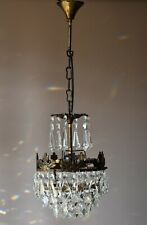 Antique French Vintage Crystal Chandelier Home Empire Ceiling Lights Small Lamp
