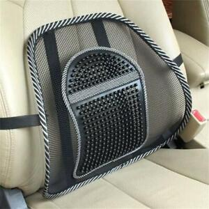 Lower Back Lumbar Support Car Seat and Office Chair Pain Relief Mesh Cushion