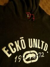 Ecko Unltd. Black Fleece Sweatshirt Size XXL