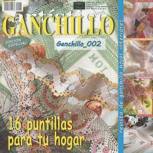 Revista Ganchillo Artistico y Puntorama pz