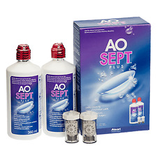 Aosept Plus With HydraGlyde 2 X 360ml Peroxide Solution For Contact Lenses
