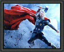 Chris Hemsworth - Thor The Dark World Signed A4 Photo Poster - FREE POSTAGE