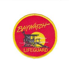 Baywatch TV Show Movie lifeguard Iron On Patch Dress Bag tshirt Jacket Skirt