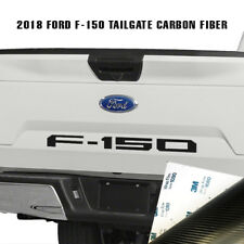 Ford F150 Tailgate 2018 Insert Decals Letters Truck Sticker Vinyl Carbon Fiber