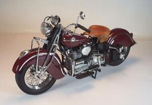 Franklin Mint 1/10 Indian 442 (1942) Motorrad / Motorcycle / Bike OVP #184
