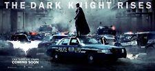 THE DARK KNIGHT RISES BATMAN MOVIE POSTER PAPER BANNER ORIGINAL