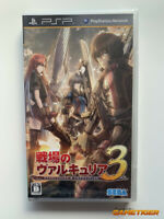 BRAND NEW VALKYRIA 3 Unrecorded Chronicles Sony PSP Playstation Portable JAPAN