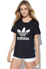 ADIDAS ATHLETICS TREFOIL T-SHIRT - NOVELTY GYM SPORTS APPAREL - 100% COTTON