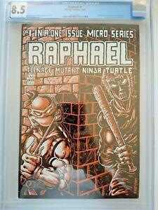 RAPHAEL #1 CGC 8.5 1st app. of CASEY JONES Mirage Studios (NO RESERVE)