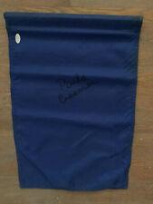 Paula Creamer signed Navy Blue Flag w/JSA