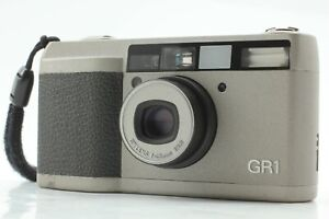 [NEAR MINT TESTED] Ricoh GR1 Sliver Point & Shoot 35mm Film Camera From JAPAN