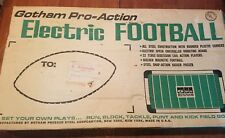 Vintage Gotham Pro-Action Electric Football Game No. 883 WORKS READ