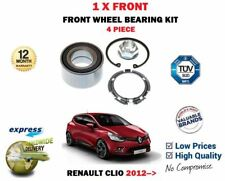 PER RENAULT CLIO 0.9 1.2 1.5 dCi 2012-> NUOVO 1 x Kit cuscinetto ruota Anteriore