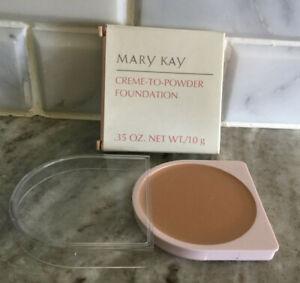 Mary Kay CREME TO POWDER Foundation NIB - Beige 3 - 3106