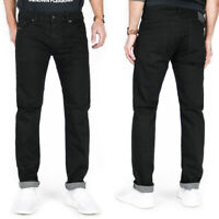 Diesel Herren Slim Skinny Fit Stretch Jeans Hose Schwarz |Thavar XP 0R84A