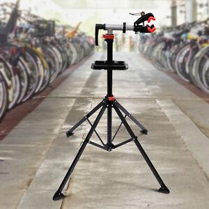 HOMCOM Bicycle Bike Maintenance Repair Stand Mechanic Workstand Rack Adjustable