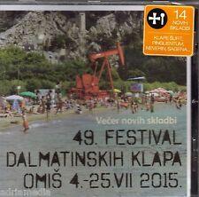 FDK OMIŠ 2015 CD 49. festival dalmatinskih klapa Neverin Mriza Siroki brijeg Hit