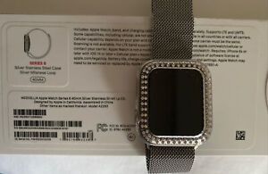 Apple Watch Series 6 Stainless Steel w/Milanese Loop 40mm GPS+Cellular M02V3LL/A