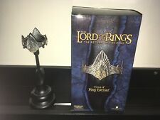 Lord of the Rings RotK Sideshow WETA Crown of King Elessar MINT