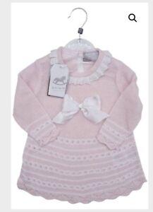 Rock a Bye Baby Pink Dress 0-3 3-6 & 6-9 Months BNWT Free Postage