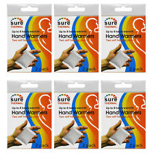 Sure Thermal Winter Outdoor Pocket Glove Hand Gloves Warmers 6 Boxes, 12 Packets