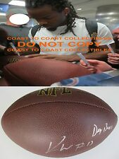 KEVIN WHITE,CHICAGO BEARS,WEST VIRGINIA,SIGNED,AUTOGRAPHED,NFL FOOTBALL,PROOF