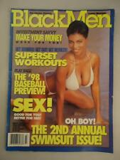 Black Men Swimsuit Issue Magazine 1998 Soft Porn African American Models Sex