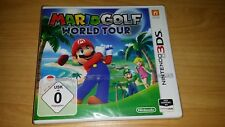 Nintendo 3DS Mario Golf World Tour PAL neu new MULTILINGUAL