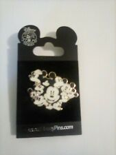 New listing Disney Trading Pin, Mickey Mouse Faces
