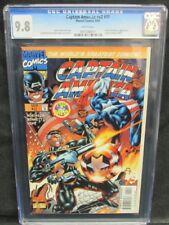 Captain America #v2 #11 (#465) (1997) Falcon/Galactus Appearance CGC 9.8 Y561
