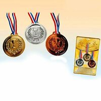 German Trendseller® - 3er Set Große Medaillen | Gold - Silber - Bronze