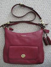 Coach handbag 22381 Legacy Courtenay deep port leather Hobo shoulder