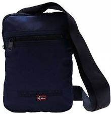 Borsello Tracolla Blu Uomo Napapijri Bag Blue Marine Men File Small Flat Crossov
