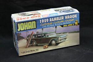 JoHan 1959 RAMBLER WAGON Curbside Custom 1/25 Scale Model Kit Open Box NICE