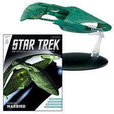 ROMULAN Warbird -  Star Trek  Metall Modell Diecast USA englisch Eaglemoss