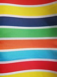 IKEA BOKVIK Striped Multicolored Shower Curtain 71 x 71 New