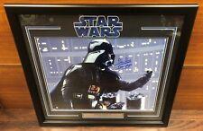 Star Wars Darth Vader David Prowse Autographed Signed Framed 16x20 Photo STEINER